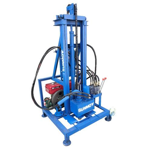 SHD260D Diesel Engine Hydraulic Drilling Rig