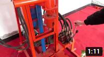 SH260D 220V hydraulic water well drilling rig
