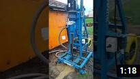 S200D portable water borehole well drilling machine